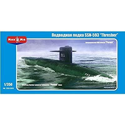 "SSN-593 ""Thresher"" U.S. submarine MM350-005: Toys & Games"