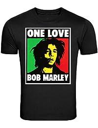 Bob Marley Smoking Joint T-Shirt Rasta One Love Lion Zion S - 5XL T-Shirt
