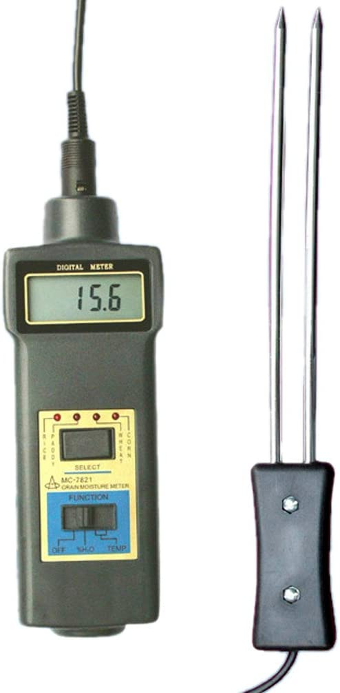 LANDTEK MC-7828G Grain Moisture Meter Cup Sensor Seed Rice Wheat Moisture Tester