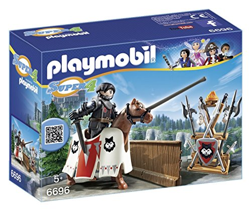 PLAYMOBIL® Super 4 Jousting Rypan, Guardian of The Black Baron