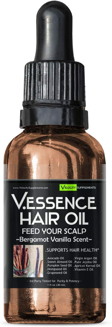 Hair Oil Bundle 6 Pack of Difference Scents by Velocity Supplements (Image #2)