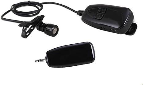 Amplificador de voz recargable para micrófono inalámbrico con clip ...