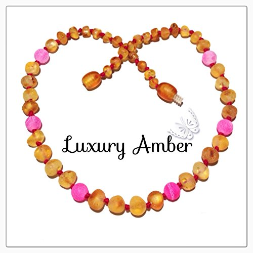 CrunchyTown Naturals Baltic Amber Teething Necklace **MULTI/MIX**