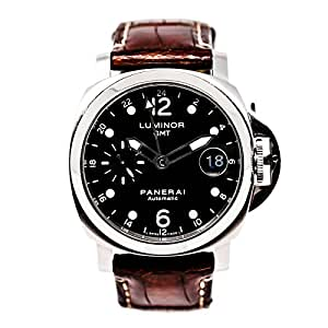 Panerai Luminor GMT automatic-self-wind mens Watch PAM00159 (Certified Pre-owned)