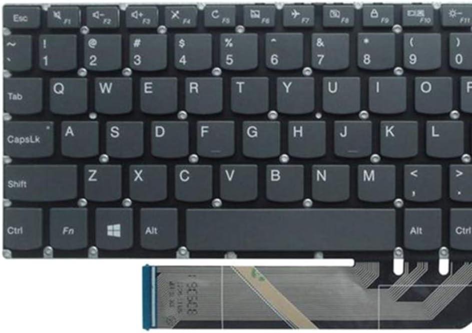 Amuzocity Tastiera per Laptop Inglese di Ricambio per Lenovo Ideapad 120S-11IAP 530-15