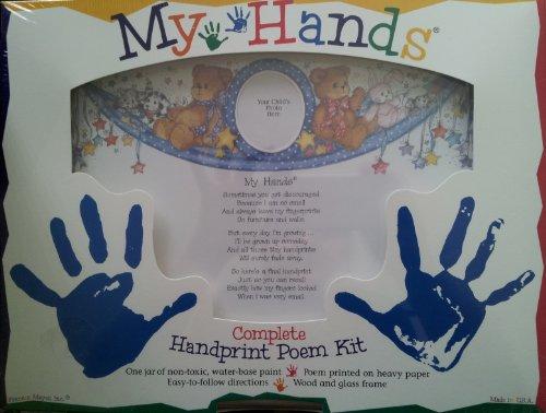 My Hands Complete Handprint Poem (Handprint Poems)