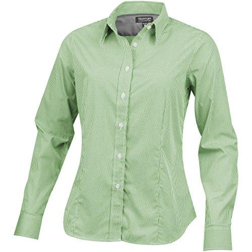 Verde Donna Camicia Lunghe Maniche Slazenger A xw8BPqxgA