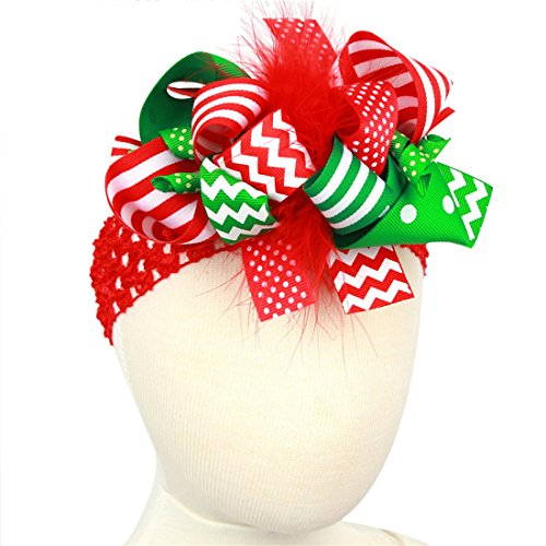 PGXT Christmas Bow knot Headdress Headband product image