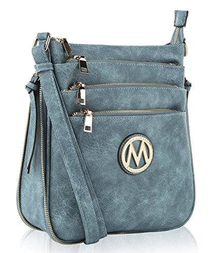 MKF Collection Salome Expandable Multi-Compartment Cross Body by MIA K. Farrow
