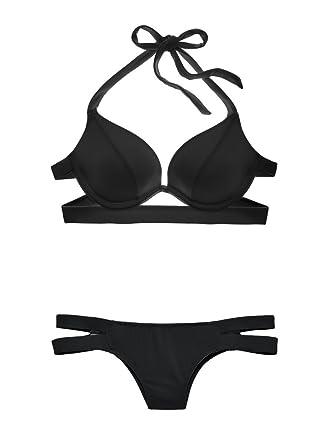 Amazon.com: Victoria s Secret Swim Set el Cabestro double ...