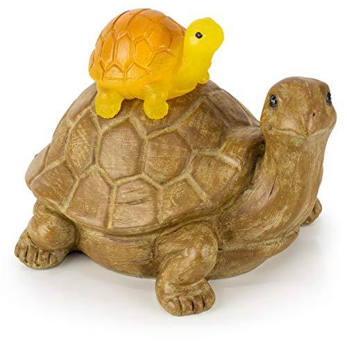 (VP Home Mom and Baby Turtle Solar Garden Light)