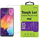 Tough Lee Tempered Glass Screen Guard Gorilla Protector for Samsung Galaxy M30s with Easy Installation Kit (Full Screen Coverage Except Edges - 11D Original Temper) (Transparent) (Pack of 1)