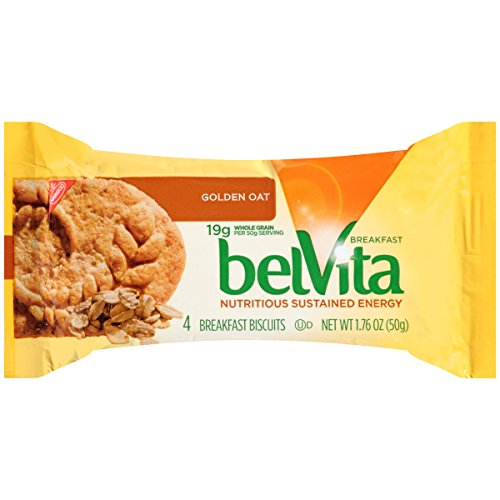belVita Breakfast Biscuits, Golden Oat, 1.76 Ounce (Pack of 8)