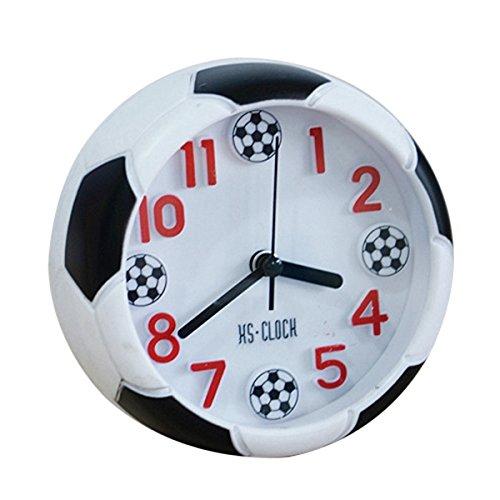 SODIAL Reloj de despertador creativo en forma de futbol ...