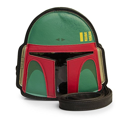 Wars Fett Crossbody by Boba Green Bag Women Helmet Star Loungefly Bag 4wSxx