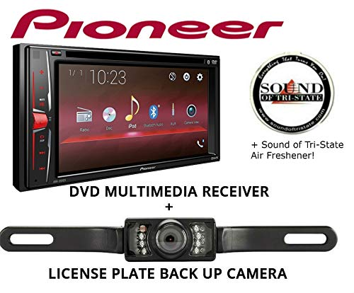 (Sound of Tri-State Pioneer AVH201EX Multimedia Receiver with License Plate Backup Camera)