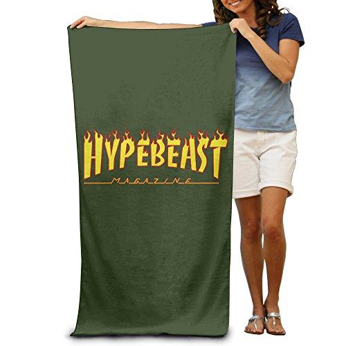 Led Zeppelin Beach Towel (Thrasher Magazine Flame Logo Microfiber Beach Bath Towel)