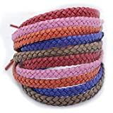 BUGXPRO Leather Mosquito Repellent Bracelets, 10 Pack Pest Control Repellent up to 300Hrs of Insect Protection, Outdoor & Indoor, Wrist Bands for Adults & Kids No Spray, Deet-free All Natural