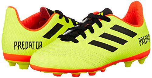 Mixte Chaussures Jaune 4 amasol Fxg Adidas 18 J Adulte Predator Negb De Football R8nXaq