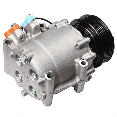 SCITOO Compatible with Auto Repair Compressor Assembly CO 4914AC AC Compressor and A/C Clutch Kit fit 2002-2005 Honda Civic 1.7L