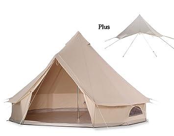 DANCHEL 5000mm Waterproof Bell Tent Size Pro 4000 Cream  sc 1 st  Amazon.ca & DANCHEL 5000mm Waterproof Bell Tent Size Pro 4000 Cream Bells ...