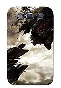 Christmas Day's Gift- New Arrival Cover Case With Nice Design For Galaxy S3- Floating Islands