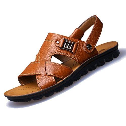 Summer Fashion Sandals for Sandles Keplia Men Cool Yellow Skidproof qtSg5