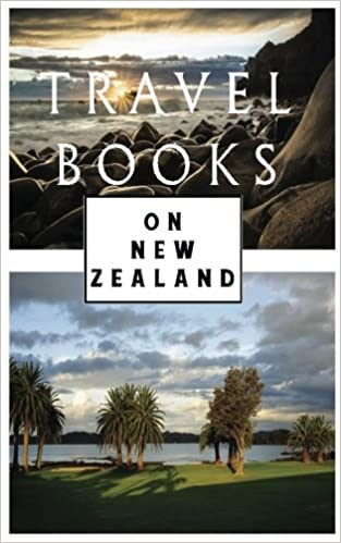 Travel Books On New Zealand: Blank Travel Journal, 5 x 8, 108 Lined Pages (Travel Planner & Organizer)