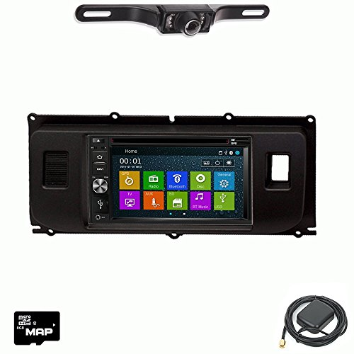 DVD GPS Navigation Multimedia Radio and Dash Kit for Land Rover Range Rover Evoque with Backup Camera ()