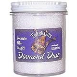 FloraCraft GL620DD/12 Diamond Dust Glitter Plastic Jar, 6-Ounce