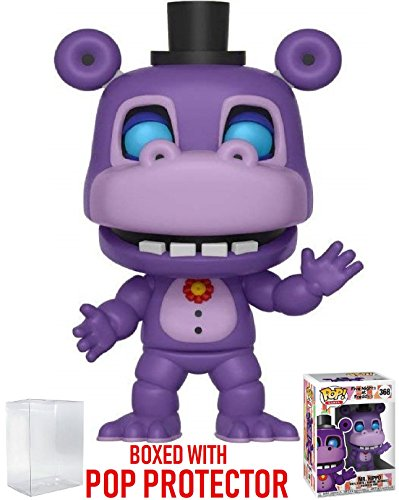 Funko Pop! Games: Five Nights at Freddy's Pizza Simulator - Mr. Hippo Vinyl Figure (Bundled with Pop Box Protector Case) by Funko