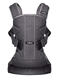 BABYBJORN Baby Carrier One - Denim Gray, Cotton BOBEBE Online Baby Store From New York to Miami and Los Angeles