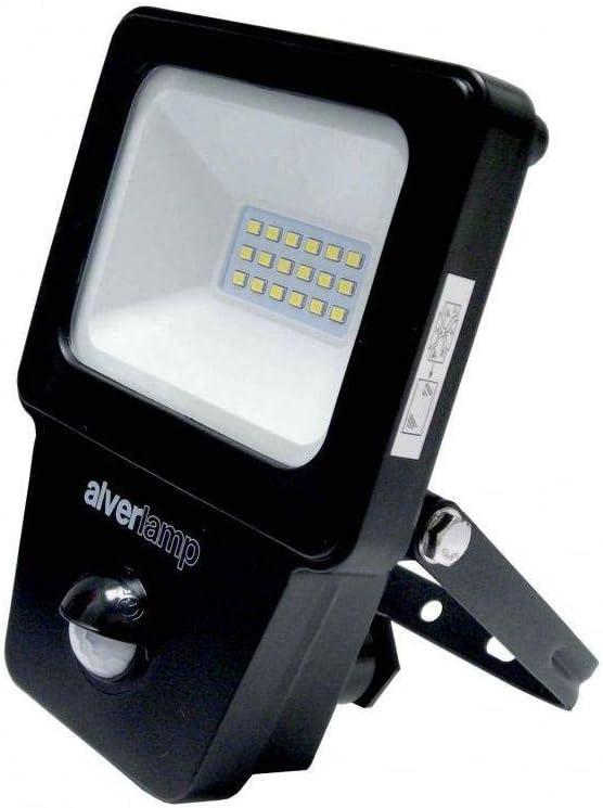 Alverlamp LPRO10SEN - Proyector led sensor 10w 4000k: Amazon.es ...