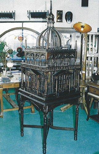 ジャービス商事 天然木 アンティーク 鳥かご宮殿 15401 木製 B01MD1GUR8