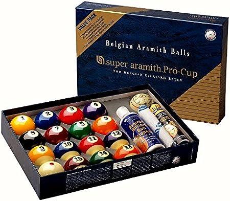 Set de bolas de Super Aramith Pro Cup Value Pack 57,2mm 1400.17