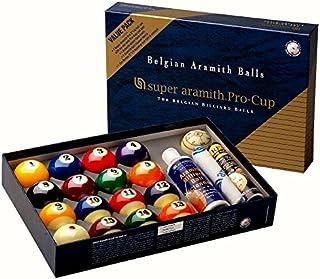 Boule Jeu de Super Aramith Pro Cup Value Pack 57,2mm 1400.17