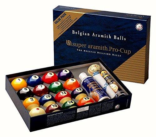 Set de bolas de Super Aramith Pro Cup Value Pack 57,2 mm 1400.17 ...