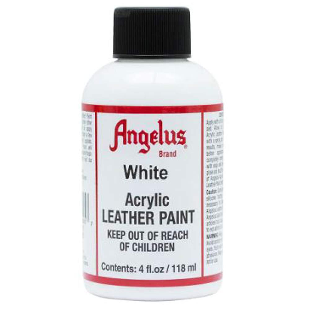 Angelus Pintura acrílica para cuero blanco 118ml
