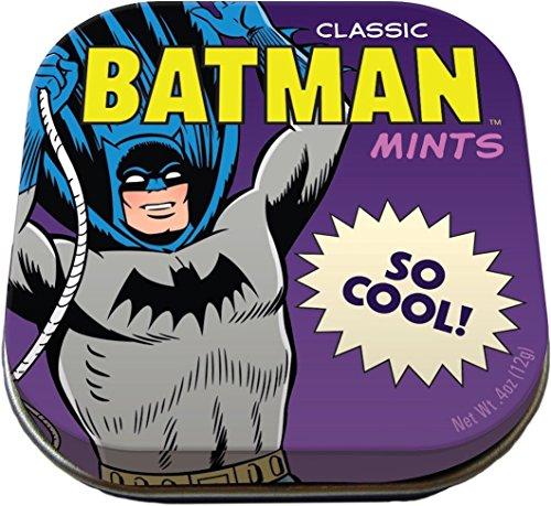 Batman Mints - 1 Tin of Mints - DC Comics Licensed (Best Food Gifts From Dc)