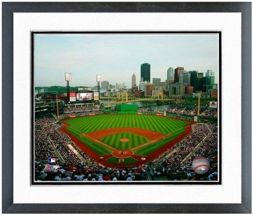 "MLB PNC Park Pittsburgh Pirates Stadium Photo (Size: 12.5"" x 15.5"") Framed"