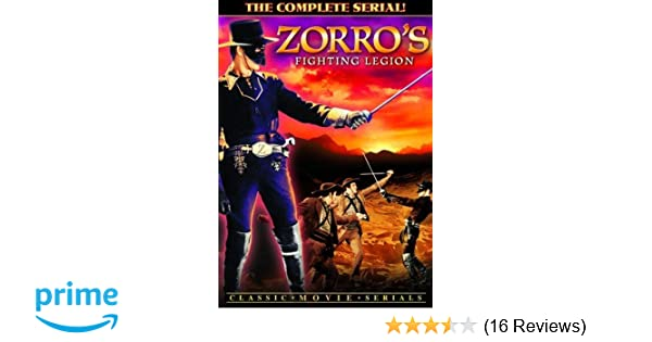 Amazoncom Zorros Fighting Legion The Complete Serial Chapters 1