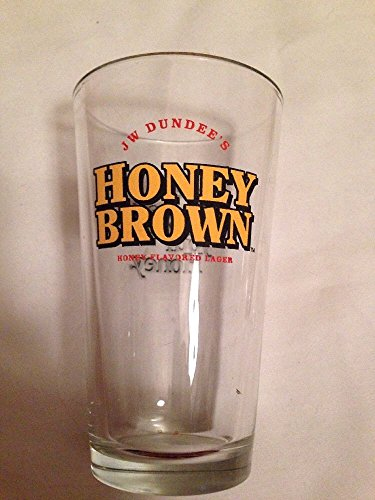Honey Brown Lager Beer Glass (Dundee Honey Brown)