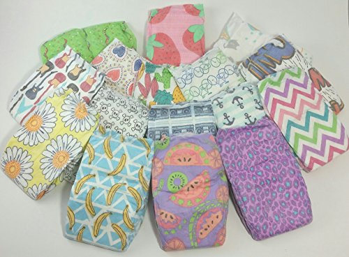 The Honest Company Diapers - Variety 16 Pack Unisex Boy Girl Newborn up to 10 Lbs Reborn