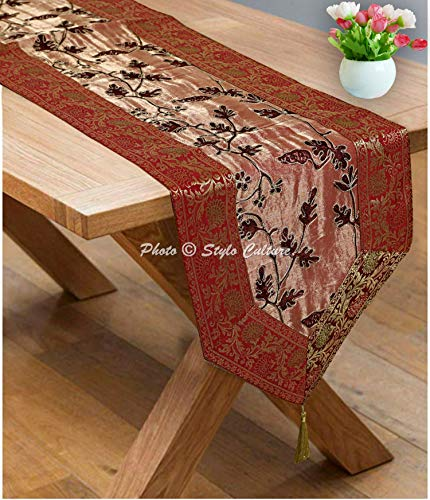 Stylo Culture Indian Dining Christmas Table Runner for sale  Delivered anywhere in USA