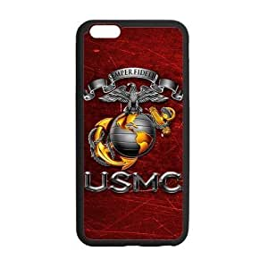 Custom Brigham Young University NCAA BYU Cougars Teams Logo Plastic and PC (Laser Technology) For Iphone 6Plus 5.5Inch Case Cover