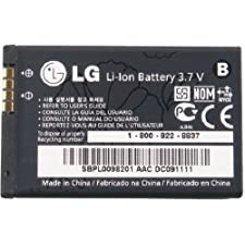LG SBPL0098201/SBPL0098901 Battery for LG LGIP-430N – Original OEM – Non-Retail Packaging – Black
