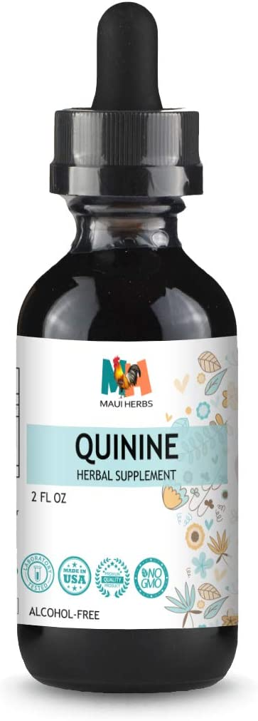 Quinine Tincture Alcohol-Free Liquid Extract, Quinine Bark Cinchona officinalis 2 FL OZ