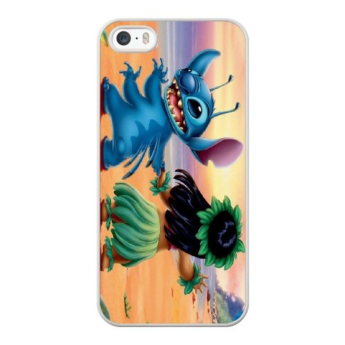 Coque,Coque iphone 5 5S SE Case Coque, Lilo And Stitch Cover For Coque iphone 5 5S SE Cell Phone Case Cover blanc