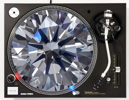 Diamond DJ Turntable Slipmat