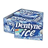 Dentyne Ice® Peppermint Gum, 12 Pieces per Pack, 12 Packs per Box (CDB30020) Category: Food